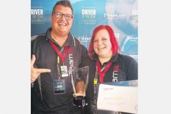 Manuela Walde - Gewinnerin des Driver of the Award 2017